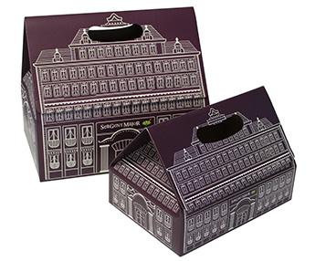 boite en carton compact